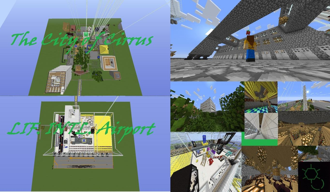 835b2  The City of Cirrus Map 1 [1.7.4] The City of Cirrus Map Download