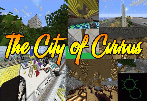 835b2  The City of Cirrus Map [1.7.4] The City of Cirrus Map Download