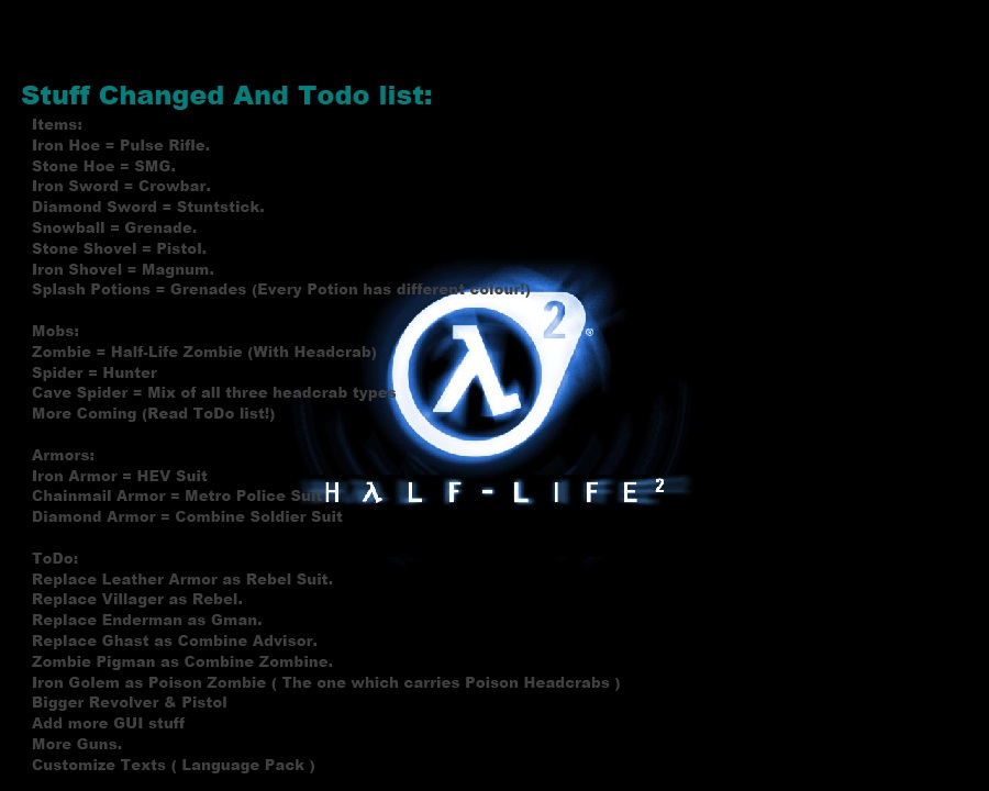 84ad8  Half life 2 resource pack 2 [1.7.10/1.6.4] [32x] Half Life 2 Texture Pack Download