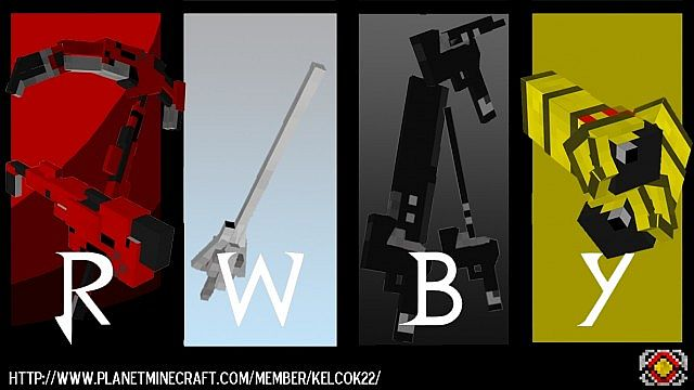 dad83  RWBY Craft Mod [1.7.10] RWBY Craft Mod Download