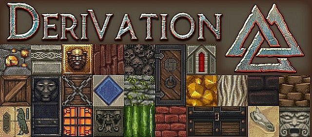 dd7c5  Derivation Reborn Pack [1.7.10/1.6.4] [32x] Derivation Reborn Texture Pack Download