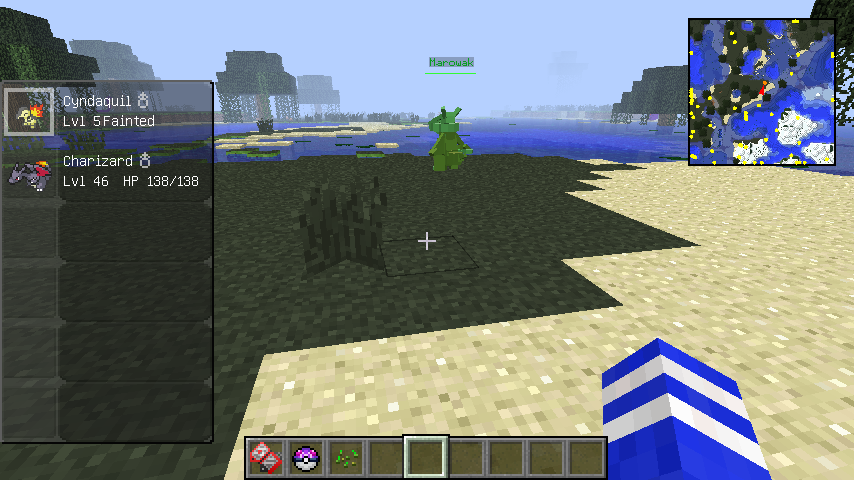 eb614  hpDTbM6 PokeRadar for Pixelmon Screenshots