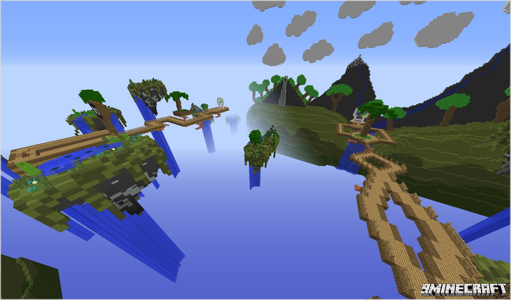Super Steve Runner Map Screenshots 1 [1.7.4] Super Steve Runner Map Download 4