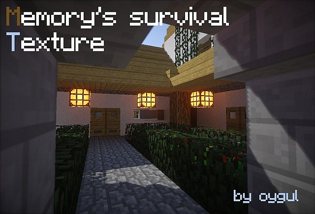 a9142  Memorys survival pack [1.7.10/1.6.4] [16x] Memory's Survival Texture Pack Download
