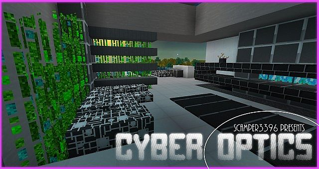 e89bf  Cyber optics pack [1.7.10/1.6.4] [32x] Cyber Optics HD Texture Pack Download