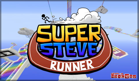 eaf55  Super Steve Runner Map [1.7.4] Super Steve Runner Map Download