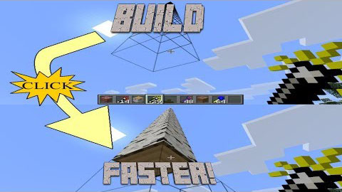 1f2b3  Build Faster Mod [1.8] Build Faster Mod Download