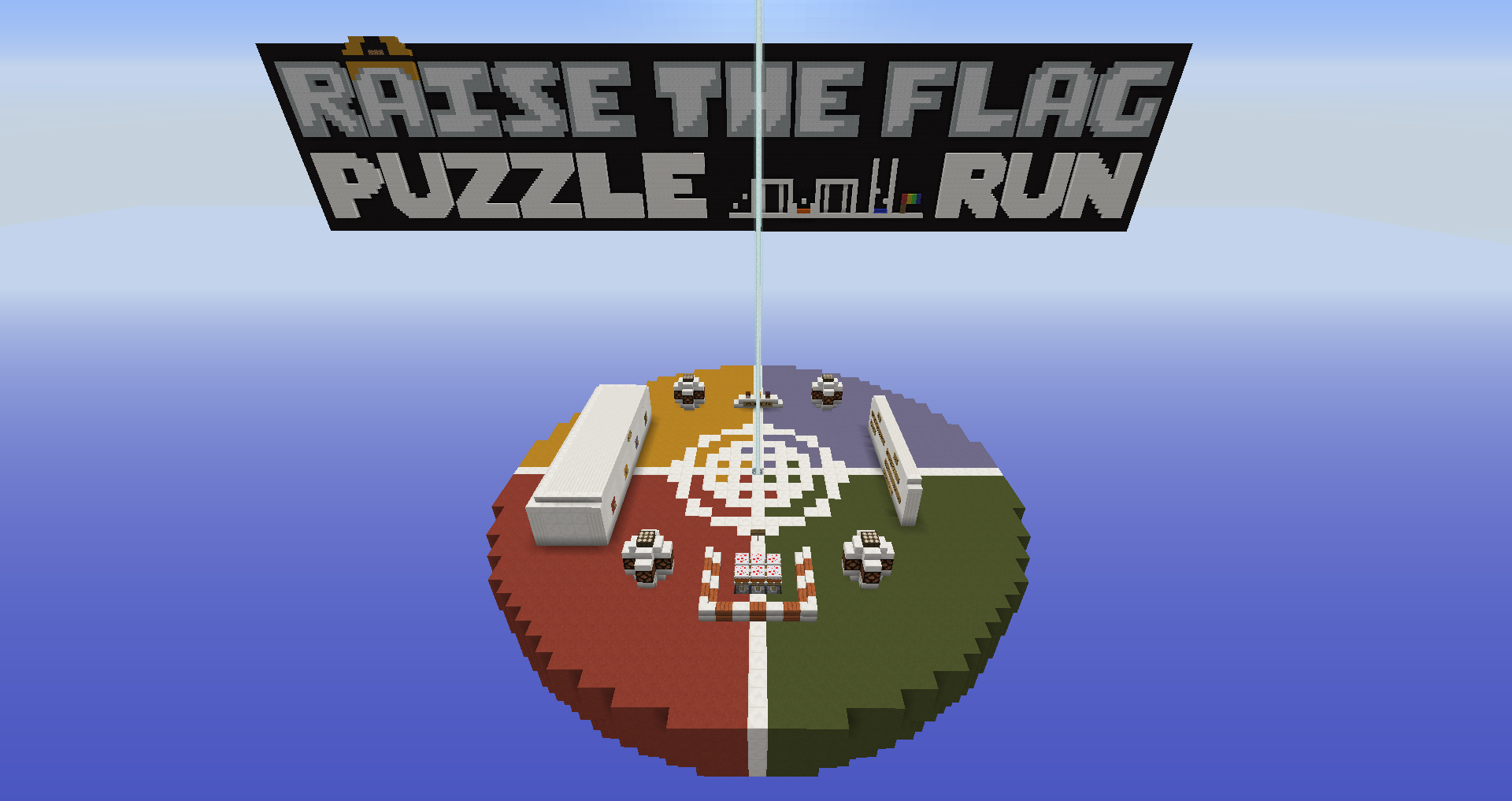 GrjKmbA Raise The Flag 3: Puzzle Run Map Download