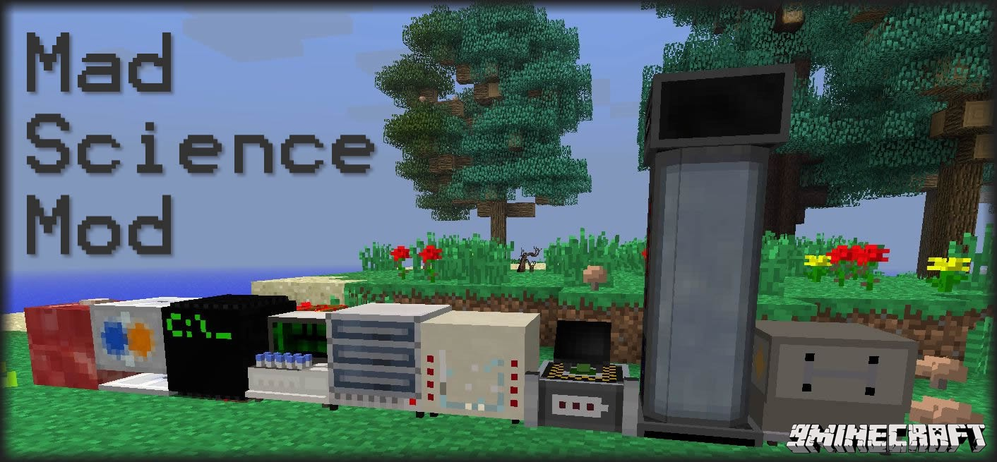 c528e  Mad Science Mod 1 [1.6.4] Mad Science Mod Download
