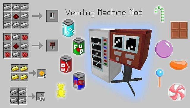 f8bd7  Vending Machine Mod 1 [1.6.4] Vending Machine Mod Download