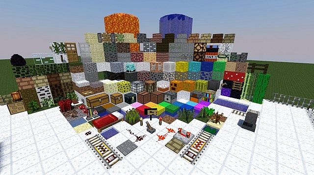 fc291  Rectangular pack 1 [1.7.10/1.6.4] [128x] Rectangular Texture Pack Download