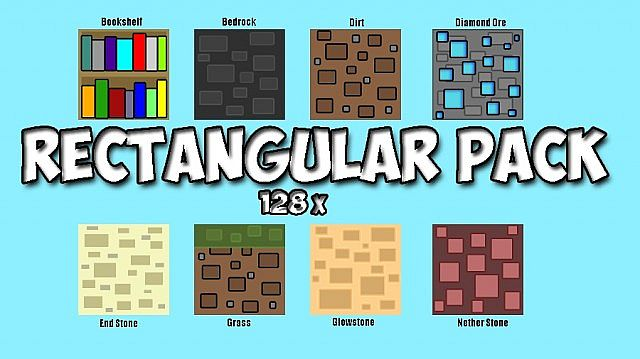 fc291  Rectangular pack [1.7.10/1.6.4] [128x] Rectangular Texture Pack Download