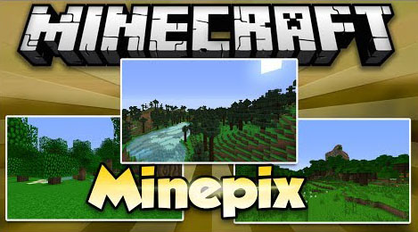 1ee55  MinePix Mod [1.7.10] MinePix Mod Download