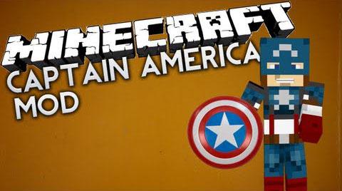 4a56e  Captain America Mod [1.7.2] Captain America Mod Download