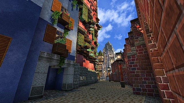 5e224  Tender world resource pack 4 [1.7.10/1.6.4] [32x] Tender World Texture Pack Download