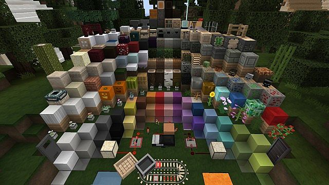 65974  Flows hd revival pack [1.7.10/1.6.4] [128x] Flows HD Revival Texture Pack Download
