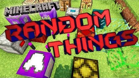 73976  Random Things Mod [1.7.10] Random Things Mod Download