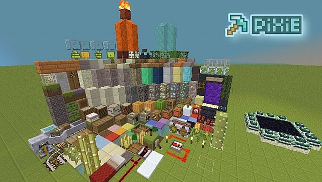 97740  PiXie texture pack 3 [1.7.10/1.6.4] [16x] PiXiE Texture Pack Download