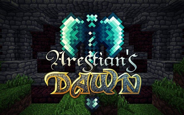 a4fa2  Arestians dawn fantasy pack [1.7.10/1.6.4] [32x] Arestian's Dawn Fantasy RPG Texture Pack Download