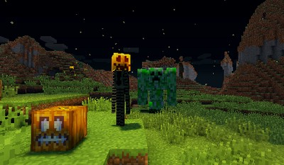 b2002  Crazy Pumpkin Mobs Mod 1 [1.6.4] Crazy Pumpkin Mobs Mod Download