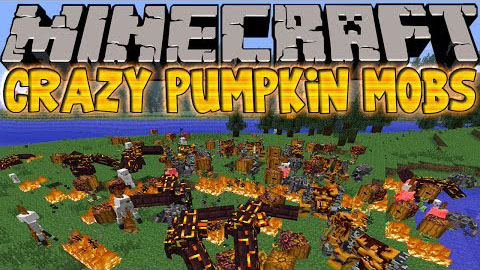 b2002  Crazy Pumpkin Mobs Mod [1.6.4] Crazy Pumpkin Mobs Mod Download