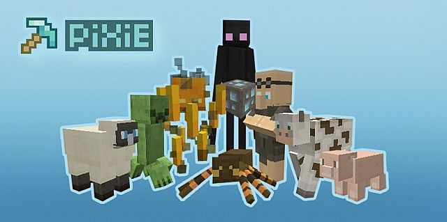 d6b40  PiXie texture pack [1.7.10/1.6.4] [16x] PiXiE Texture Pack Download