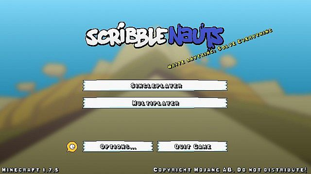 de474  The scribblenauts pack 6 [1.7.10/1.6.4] [32x] The Scribblenauts Texture Pack Download