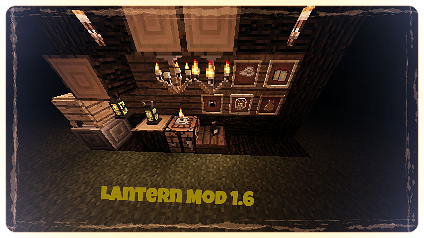 e8cec  Lanterns and Flashlights Mod 1 [1.7.2] Lanterns and Flashlights Mod Download