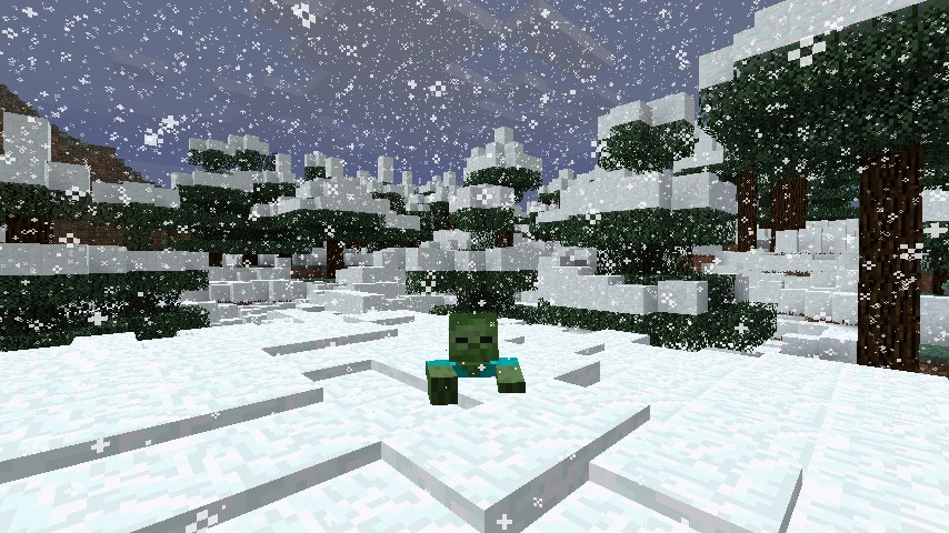 010af  Snows Deeper Mod 1 [1.7.2] Snows Deeper Mod Download