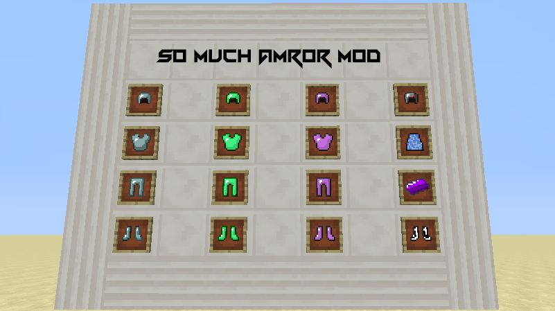 04c60  So Much Armor Mod 1 [1.7.2] So Much Armor Mod Download
