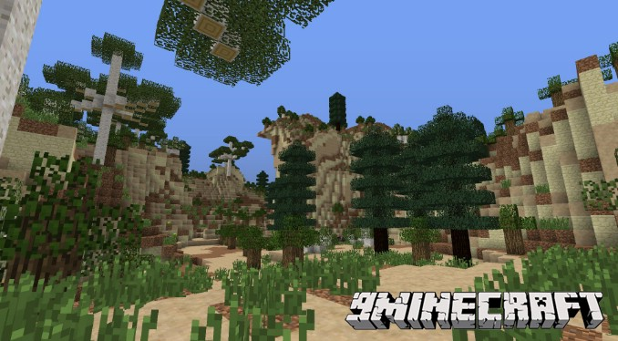 0580a  Enhanced Biomes Mod 3 [1.7.10] Enhanced Biomes Mod Download