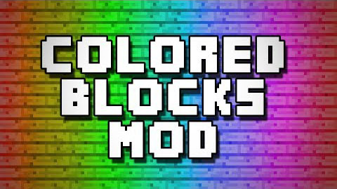3818a  Color Blocks Mod [1.7.2] Color Blocks Mod Download