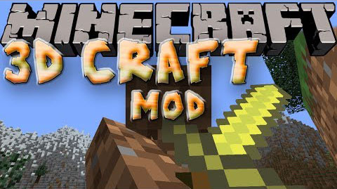 409e7  3D Craft Mod [1.7.2] 3D Craft Mod Download