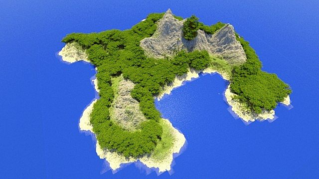 6397a  Tropical Island Map 1 [1.7.9] Tropical Island Map Download