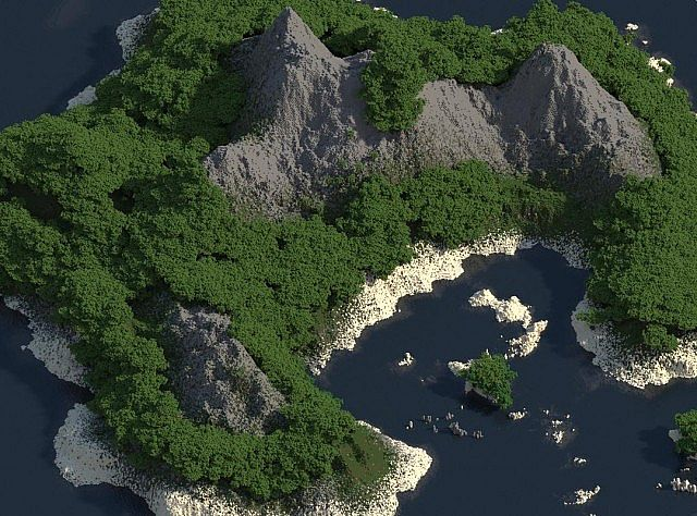 6397a  Tropical Island Map 3 [1.7.9] Tropical Island Map Download