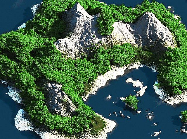 6397a  Tropical Island Map [1.7.9] Tropical Island Map Download