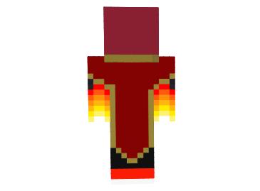 скины майнкрафт огненный маг #5