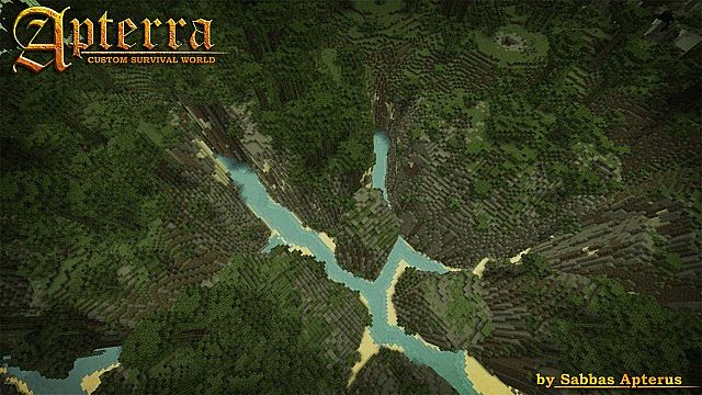cd615  Apterra Map 5 [1.7.6/1.7.2] Apterra Map Download