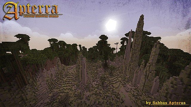cd615  Apterra Map 7 [1.7.6/1.7.2] Apterra Map Download
