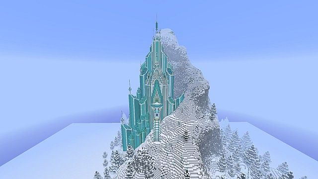 f7b8b  Elsas Ice Castle Frozen Map 1 [1.7.8] Elsa's Ice Castle – Frozen Map Download