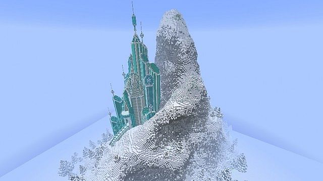 f7b8b  Elsas Ice Castle Frozen Map 3 [1.7.8] Elsa's Ice Castle – Frozen Map Download