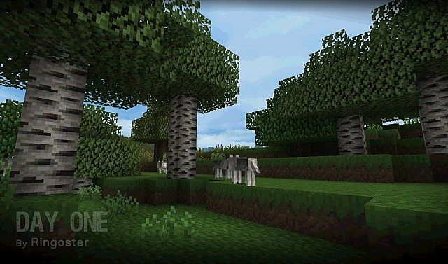 2db81  Day one resource pack 2 [1.7.10/1.6.4] [16x] Day One Texture Pack Download