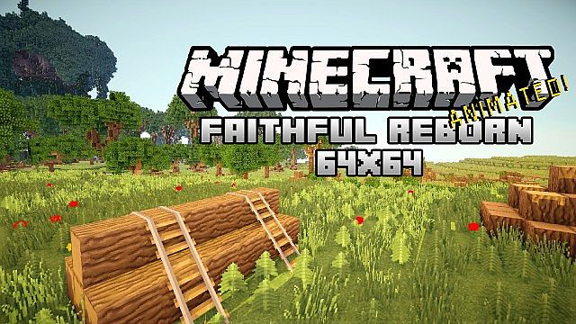 428c4  Faithful reborn animated pack 1 [1.7.10/1.6.4] [64x] Faithful : Reborn Animated Texture Pack Download
