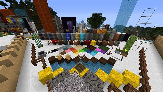 4ad13  Full of life texture pack 6 [1.9.4/1.8.9] [128x] Full of Life Texture Pack Download