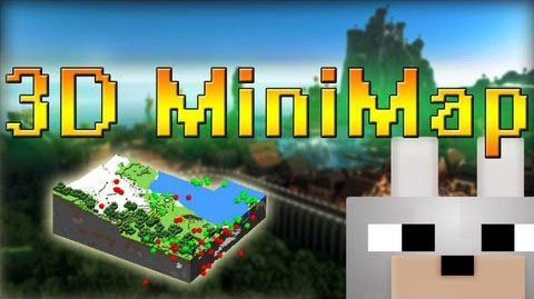 52bc5  3D Minimap Mod [1.7.10] 3D Minimap Mod Download