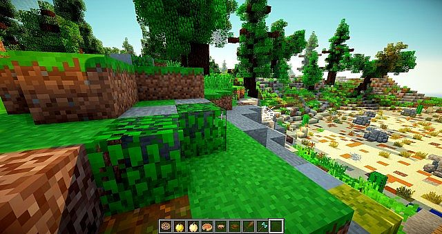 74440  Improved resource pack 5 [1.7.10/1.6.4] [16x] Improved Default Textures Texture Pack Download