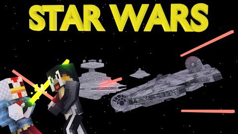 7fc27  Star wars mod by maggicraft [1.7.2] Star Wars MaggiCraft Mod Download