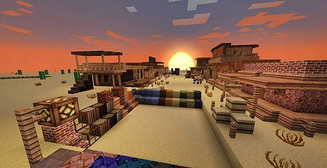 91b20  Western style resource pack 5 [1.7.10/1.6.4] [32x] ICrafting's Western Style Texture Pack Download