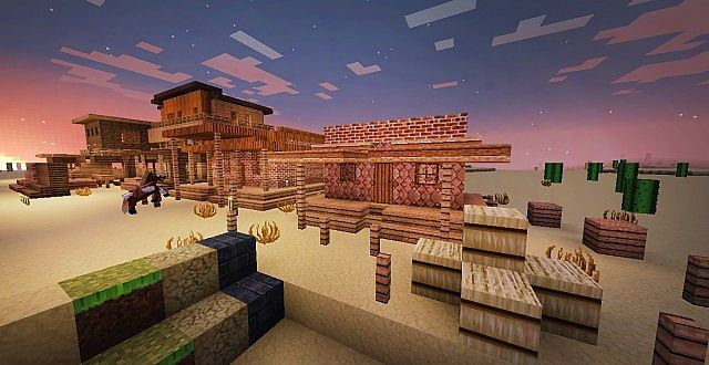 91b20  Western style resource pack 6 [1.7.10/1.6.4] [32x] ICrafting's Western Style Texture Pack Download