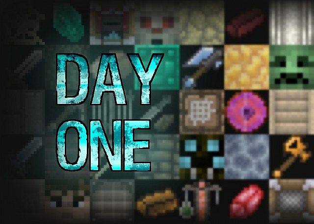 9337b  Day one resource pack [1.7.10/1.6.4] [16x] Day One Texture Pack Download